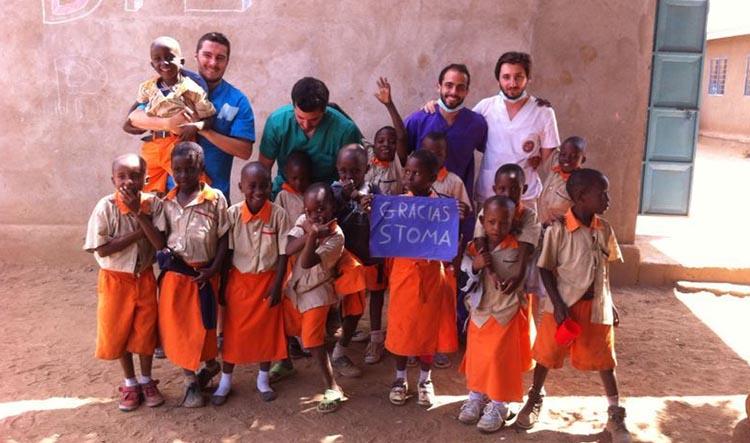 Ortodoncistas en Alcorcón y Móstoles en Clínica Stoma - Acción solidaria en Tanzania