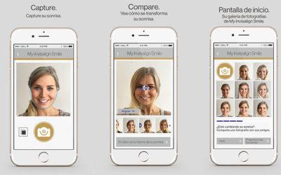 La App invisalign: Sonríe